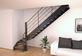 Limons Copenhague pour Escalier Quart Tournant en Acier (< 280 cm)