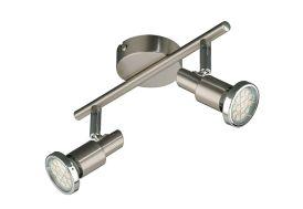 Luminaire LED 2 Spots Cool