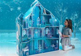 Maison de Poupées Disney Le Manoir Glacé de la Reine des Neiges