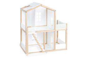 maison pour poupée blanche design 42 x 64 x 71 cm