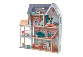 Maison de poupées Kidkraft en bois Manoir Dahlia et ses 30 accessoires