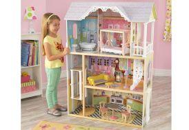 grande maison de poupées en bois 1,20 m kidkraft accessoires inclus
