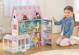 maison de poupées en bois kidkraft manoir victorien