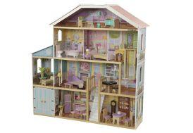 Grande maison de poupées en bois Kidkraft 130 cm 4 étages