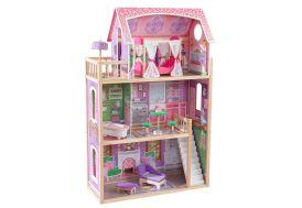 Maison de poupées Kidkraft Ava en bois avec 10 accessoires