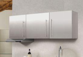 Armoire Suspendue Inox 150 cm