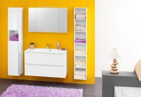 Meuble de Salle de Bain avec Plan de Toilette en Kerrock Zena 100