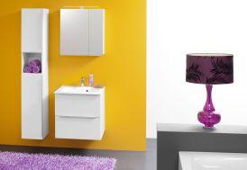 Meuble de Salle de Bain avec Plan de Toilette en Kerrock Zena 60