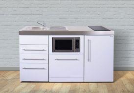 Mini-Cuisine avec Frigo, L-V, M-O et Induction Blanche MPGSMS3160