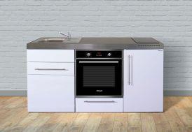 Kitchenette équipée pour studio avec four, frigo et plaques induction