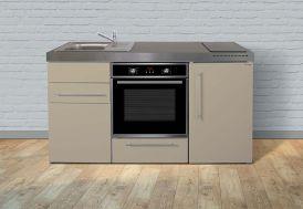 mini cuisine 160 cm de long par 60 cm de large et 89 cm de haut