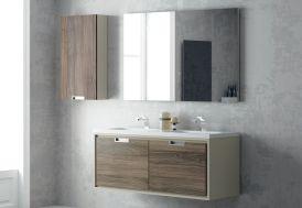 meuble de salle de bain lavabo escamotable luxe mobilier salle de bain cher kolpa. Black Bedroom Furniture Sets. Home Design Ideas