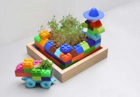 Premier Potager à Construire pour Enfant 24x24x11