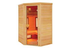 Sauna d'Intérieur en Bois de Cèdre Rouge Canadien 3/4 Personnes