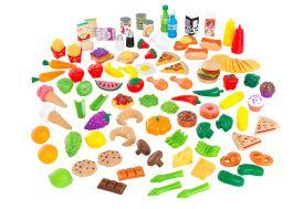 Nourriture en plastique pour dinette enfant Kidkraft 115 aliments