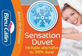 """Oreiller """"Sensation Duvet"""" 50x70 - 60x60 - 65x65cm"""