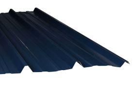 Plaque Nervurée en Acier Régulé 3x1m 63/100e (2 Coloris) à Partir de 5 Plaques