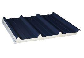 Plaque Acier Isolée 3x1m 60 mm - à partir de 3 Plaques (Pls Coloris)