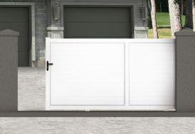 Portail Coulissant PVC Motorisé 3,5m Atlas