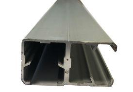 Profil d'Angle Aluminium pour Verre Synthétique 2m
