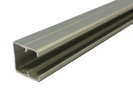 Profil U Encadrement Aluminium pour Verre Synthétique 3m