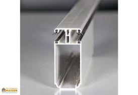 Profil Autoportant Tub 121 Blanc sur Mesure pour Polycarbonate 16mm - Blanc