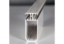 Profil Autoportant Tub 121 Blanc sur Mesure pour Polycarbonate 32mm