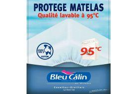 Protège Matelas 100% Coton Finition Flanelle 1 Personne