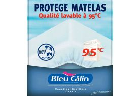 Protège Matelas 100% Coton Finition Flanelle 2 Personnes