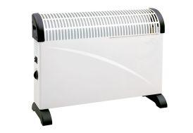 Radiateur électrique chauffage convecteur 2000 W réglable avec thermostat