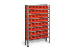 rack de stockage en acier pour alier ou magasin