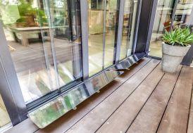 miroir réfléchissant espaciel pour terrasse