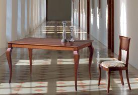 Salle à Manger en Hêtre Massif : Table Extensible 140/200x90 Ambar