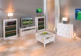 Salon Télé Complet : Meuble TV + Buffet + Table Basse + Bibliothèque(s)