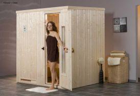 Sauna Weka 68 mm Halmstad 1 + Poêle 230 V