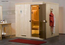 Sauna Weka 68 mm Halmstad 3 + Poêle 230 V