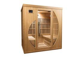Sauna Infrarouge en Bois de Hemlock 3 Personnes Mountfield Rowen