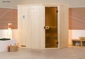 Sauna Angle 68 mm Kasala 1 + Poêle 230 V