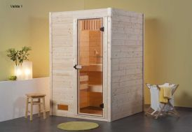 Sauna Valida 1 Bois Massif 38 mm + Poêle 230 V