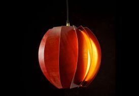 Lampe Suspension Design en Bois Bloom Original