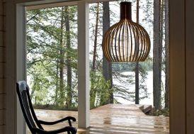 lampe scandinave design en bois
