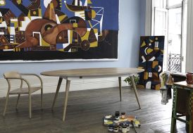 Table Ovale en Chêne Inès Wewood