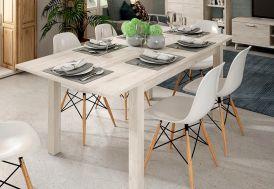 Table à Manger Extensible en Bois Kronos 135/180 x 90 cm