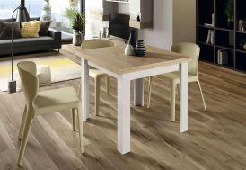 Table à Manger Extensible en Bois Aura 90 x 90 cm