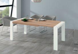 Table à Manger Extensible en Bois Kronos 144/204 x 90 cm