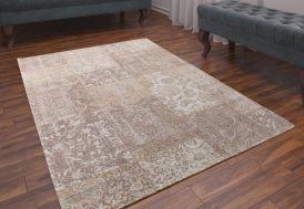 Tapis Coton et Acrylique Patchwork 200x280cm (Pls coloris)