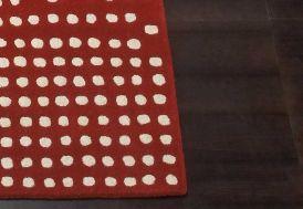 Tapis en Laine Pompons Cascata 200x300cm (2 coloris)