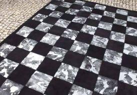 Tapis en Peau Blocks (140x200 - 170x240 - 200x300cm)