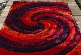 Tapis en Polyester 3D Ciclone (140x200 - 170x240 - 200x300cm)