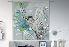 Tenture Murale Design en Coton Bio Free Flight